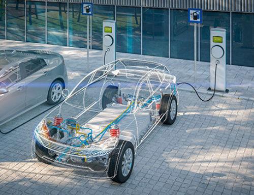 Zahl der Ladesäulen und Elektrofahrzeuge steigt