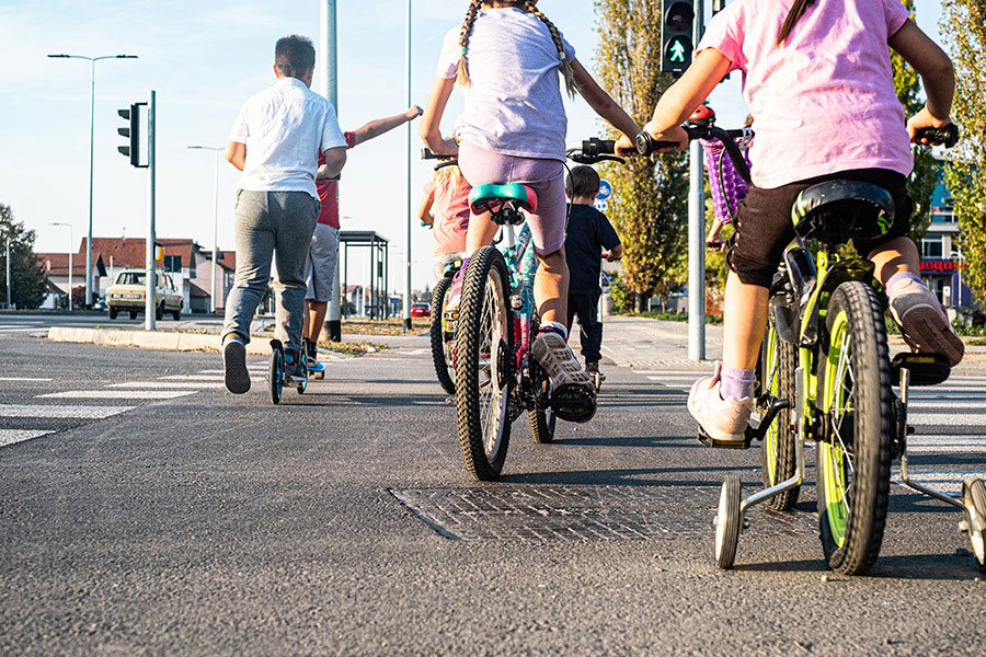 Kinder sollen sich gefahrenlos durch die Stadt bewegen können.